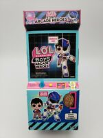 LOL Surprise Boys Arcade Heroes Action Figure Doll with 15 Surprises NEW RARE!