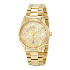 Gucci G-timeless Gold Tone Dial  Quartz Unisex Watch YA126461