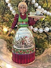 Jim Shore Heartwood Creek Mrs Claus Ornament 2006 w/tags NEW