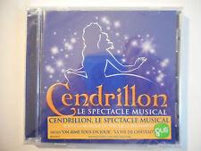 """CENDRILLON : LE SPECTACLE MUSICAL """"ON AIME TOUS UN JOUR"""" ♦ CD ALBUM NEUF / NEW ♦"""