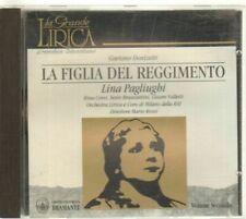 LA FIGLIA DEL REGGIMENTO di Donizetti - Pagliughi Vol. Secondo CD Audio Musicale