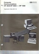 Original Hewlett Packard AN 201-10 Computer Communications HP 9835/9845-HP 1000
