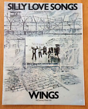 "WINGS ""SILLY LOVE SONGS"" MUSIC BOOK"
