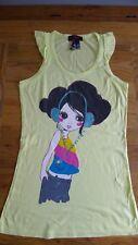 Nuevo Camiseta Sin Mangas Talla L Zara Collection