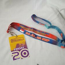 Lanyard Ticket Singapore Airlines Formula 1 Grand Prix 2019 Grand Stand Fri 20th