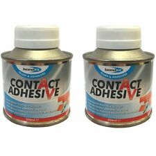 (PACK OF 2) 250ml Bond It Contact Adhesive Strong rubber plastic wood metal glue