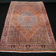 Alter Orient Teppich 330 x 230 cm Braun Blau Perserteppich Old Carpet Brown Blue