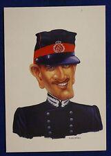 Umoristica Ufficiale Carabinieri Uniforme Campagna no viaggiata FG #16737