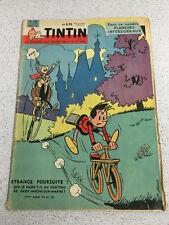 TINTIN  N°633 12e ANNEE 8 DECEMBRE 1960 REVUE MAGAZINE VINTAGE