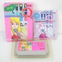 PROJECT Q Item ref/bcb Famicom Nintendo Import JAPAN Boxed Game fc