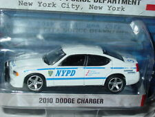 Greenlight 2010 DODGE CHARGER NEW YORK POLICE NYPD HOT PURSUIT SERIES -White