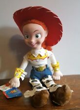 "Toy Story 2 JESSIE 18"" doll VHTF POSABLE Disney Store 1998 NWT"