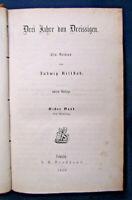 Rellstab Drei Jahre von Dreissigen 5 Bde komplett 1858 Belletristik Roman sf