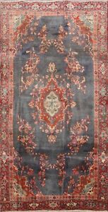 4x7 Floral Bidjar Oriental Traditional Area Rug Hand-knotted Medallion Carpet