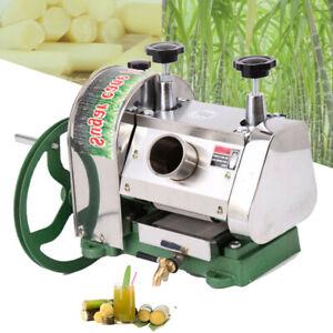Ridgeyard Manual Sugar Cane Press Juicer Juice Machine Commercial Extractor Mill