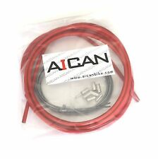 Aican Quality bicycle bike Road Brake cable housing set kit vs Jagwire, Red