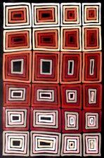 Adam Reid, Fire Dreaming, ORIGINAL Aboriginal Art 80x55cm w/ COA