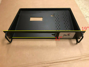 """One 19"""" Audio/Electronic Rack Mount shelf 9020-0220-0001 FOR X5 Satellite Router"""
