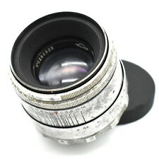 Helios-44 2/58mm M39 silver USSR lens vintage for Canon, Nikon, Sony #0290625