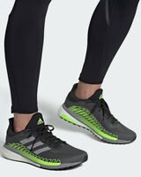 Adidas Scarpe Corsa Running Shoes Sneakers Trainers Grigio Boost Solar glide