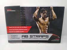 GNC Pro Performance Ab Straps Men's Womens Fitness Exercise Abdominal Health (A)