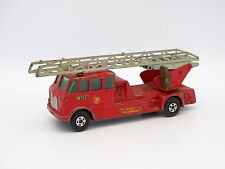 Matchbox 1/55 - Merryweather Fire Engine Pompiers K15