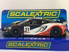 Scalextric C3604 McLaren 12C GT3 Glynn & Jim Geddie 2014 GT Cup Boxed