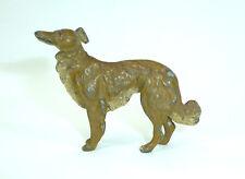 Wiener Bronze um 1900 Hund Windhund Borsoi Barsoi Collie
