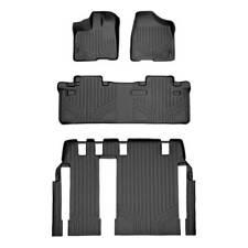 Maxliner 11-12 Fits Toyota Sienna 8 Passenger Model Floor Mats Liner Set Black
