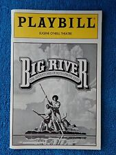 Big River - Eugene O'Neill Theatre Playbill - May 1987 - Gary Holcombe