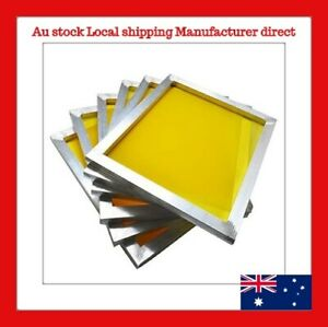 5 0f 40x50cm Screen Frame with 120t 300M Silk Screen Printing