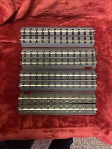 MTH O Gauge Tracks Four Straights T RAIL All one Price