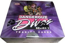 Rittenhouse 2014 Marvel Dangerous Divas Series 2 Factory Sealed Box of 24 Packs