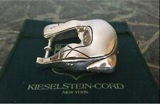 silver buckle, mint Barry Kieselstein-Cord Alligator sterling