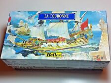 HELLER LA COURONNE Ship Kit  1/600 scale Perfect Factory Box Complete Kits