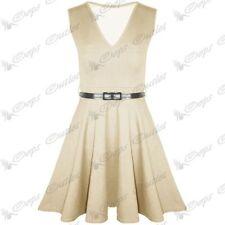 Vestiti da donna grigia con scollo a v taglia M