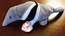 Ty Beanie Baby Ants The Anteater, Rare item With Tag errors, Retired