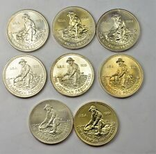 """8 TROY OUNCES .999 SILVER """"AMERICAN PROSPECTOR BY ENGELHARD 1984 AND 1985"""