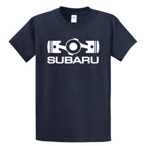 Subaru Basic Tee Shirt Impreza Sti T shirt WRX Forester Outback NEW Racing Navy