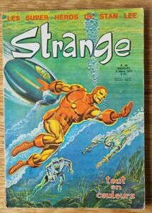 BD STRANGE N° 39 - Univers Marvel - 1973 - Bon Etat