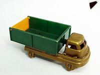 "Gilmark Dump Truck (1951) Original Vintage Gold/Orange/Green 4 1/4"" - Nice!"