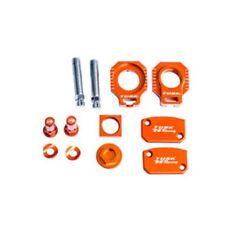 FITS: KTM 150 SX XC 2013–2014 TUSK BILLET BLING KIT Brake Oil Cap Axle Blocks