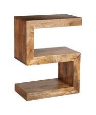 LIGHT MANGO SIDE TABLE (S) (H36L)