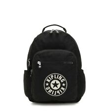 Kipling SEOUL Large Backpack with Laptop Protection LIVELY BLACK SS20 RRP £93