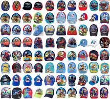 Boys Kids Paw Patrol Avenger Cars PJ Mask Summer Sun Baseball Cap Age 1-12 Years