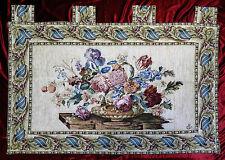 Tapiz Tapicería paraíso de flores flor chhenille arazzo tapisserie140x100