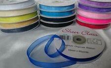 Unbranded Satin Organza Ribbons & Ribboncraft