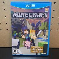 Minecraft: Wii U Edition (Wii U, 2015) COMPLETE