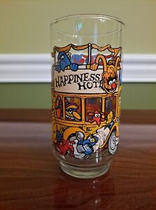 1981 Vintage McDonalds Great Muppet Caper Happiness Hotel Drinking Glass