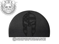 NDZ P1 Grip Plug for Glock GEN 1-3 17 19 22 23 24 34 35 Spartan Helmet Flag
